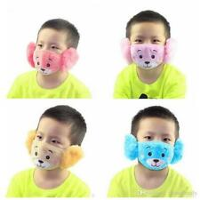 (Keep Warm) SOFT KIDS TODDLER BABY Cover Ears/Mouth/Nose Face Masks Reusable UK