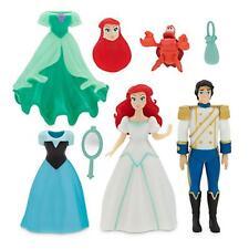 The Little Mermaid Ariel Prince Eric Deluxe Figure Fashion Set Disney NIB