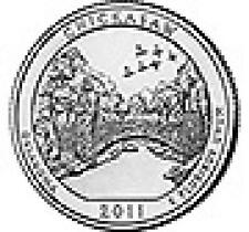 2011 CHICKASAW National Recreation Area D STATE QUARTERS PARKS, Commemorative,