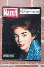 PARIS MATCH N°275 dawn addams ray robinson moira shearer 1954