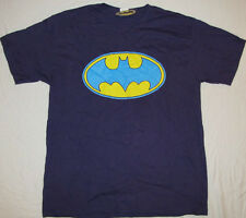 BATMAN DC COMICS MENS T-SHIRT GRAPHIC BAT SIGNAL LOGO TEE SUPERHERO LEAGUE XL!!!