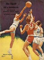 1963 Washington Huskies at USC Trojans NCAA Basketball Program