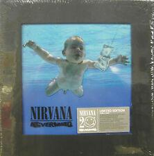 "NIRVANA ""NEVERMIND"" box limit.edition 4 cds + dvd sealed"