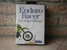 ancien jeu ENDURO RACER de SEGA  de 1987