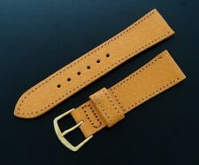 Beautiful Men's 19mm SHORT Pigskin Watch Strap/Band