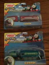 Caitlin & Connor for the Thomas Take-n-Play series of Die-Cast Trains New in Pkg