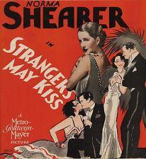 Strangers May Kiss - 1932 - Norma Shearer Robert Montgomery Pre-Code Drama DVD