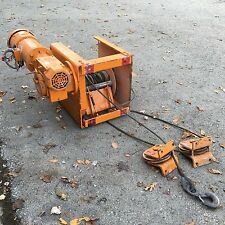 THERN 4WS6M12 6300 Lb Winch Worm / Spur Electric Power 5 HP 230 / 460 V 3 Phase