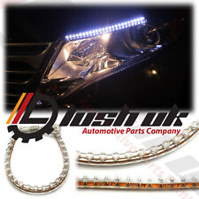*2 x 24cm LED DRL Daytime running light Strips Flexible SMD Universal Interior
