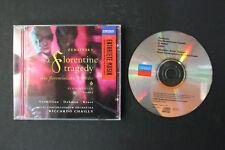 CD: ZEMLINSKY Florentine Tragedy Royal Concertgebouw Orchestra 1997 London