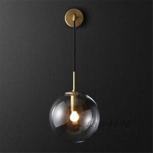 Nordic Style Glass Ball Wall lamp LED Bracket Light For Bedroom Living Room