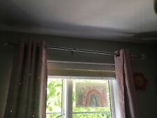 extending curtain rail, with diamond look decoration to end
