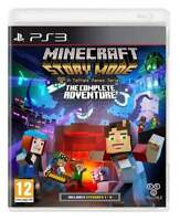 Minecraft Story Mode: The Complete Adventure PS3 MINT - Super Fast Delivery