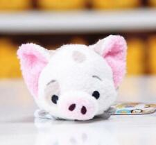 New Hot Disney TSUM Moana Pet Pig Pua Mini Soft Plush Stuffed Toys With Chain