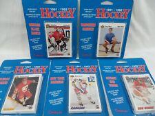 Vintage Upper Deck Canplay 1991-92 NHL Team Hockey Cards Blackhawks Red Wings