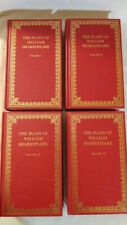 The Plays of William Shakespeare, 4 Vol, Hardcover, The Peebles Classic Library