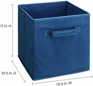 ClosetMaid Cubeicals Fabric Drawers Blue 2 Pack 8943