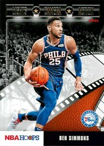 Ben Simmons 2019/20 Basketball Cards (28 to choose from) Panini Prizm Upper Deck