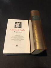 [17714-PL9] Pléïade - Charles de Gaulle - Mémoires - 2000