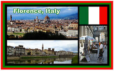 FLORENCE, ITALY - SOUVENIR NOVELTY FRIDGE MAGNET - BRAND NEW