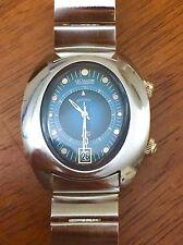 Vintage Jaeger-LeCoultre Memovox HPG alarm wrist watch circa 1970 all original