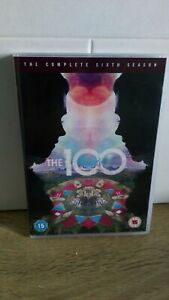 The 100 Sixth 6 Season DVD Region 2 UK Watched Once