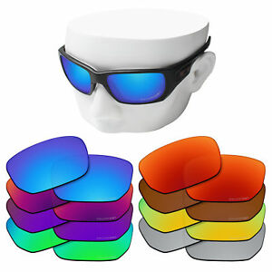 OOWLIT Etched POLARIZED Lenses for-Oakley Style Switch OO9194 Sunglasses