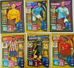 2019-20  Topps Match Attax Champions League - Various Inserts - Multibuy