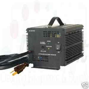*New* Schauer 48v 48 volt 15 amp Golf Cart, Battery Charger Crow Foot plug