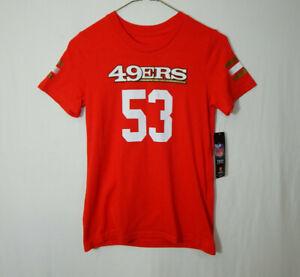 NWT San Francisco 49ers NaVorro Bowman NFL Football Shirt MEDIUM Girls Clothing
