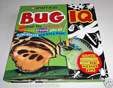 Smart Kids Bug IQ Book Roger Priddy Also Has Glow In The Dark Bugs, Game & Poste