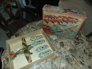 Very RARE BOXED Marx Original Air-Sea Power Set