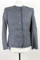 JAEGER Grey 100% Wool Jacket size 12