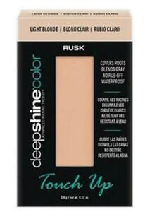 Rusk DeepShine Touch Up 0.12 oz Light Blonde (with free reusable compact)
