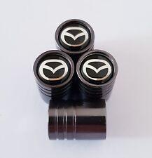 MAZDA Titanium Grey valve Tyre Dust Caps 7 COLORS  2 3 5 6 MX-5 CX-5 CX-3