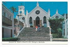 BERMUDA Ancient St. Peter's Church in St. George's