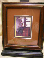 "Framed Art Ben Richmond Gallery Marblehead Ohio ""The Captain's Room"" Print Art"