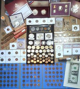 RARE 1861-2020 PDSW US Coin Lot 431x ⭐ Morgan $1 PCGS 70 PROOF MS+ BU OBW Rolls