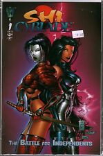 Shi Cyblade The Battle for Independents #1 Variant Comic Book Bagged & Boarded