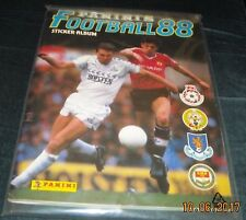 PANINI FOOTBALL 88 ALBUM - 100% COMPLETE - IMMACULATE CONDITION