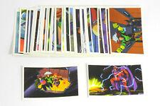 1996 Skybox Panini X-Men Sanctuary Album Sticker Set (66)  NM/MT