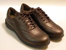 ARAVON Farren Women's Loafers Diabetic Shoes Leather Brown Sz 7 Med NIB $164.95