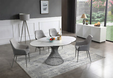 Esf 9034 Contemporary Dining Room Set Extravaganza Collection Total of 8 Pieces