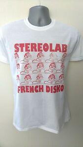 Stereolab t-shirt  McCarthy High Llamas ride slowdive orb prodigy