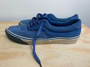Vans Shoes Mens Size 10.5 Blue Reflective Used Skateboarding