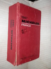 MICHELIN France Pneu Michelin 1987 viaggi saggistica libro turismo guida di