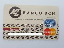 MEXICO - MASTERCARD - EXPIRED - CREDIT CARD - BCH BANK - 1994 - OLD & RARE
