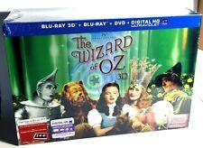 The Wizard of Oz (5-Disc 3D & 2D Blu-ray/DVD, U.V. Copy, 75th Anniv. Ed.) New !