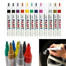 PAINT MARKERS OIL BASED 12 Pack Set ASSORTED COLORS-ART PEN Marker Pen Car Tire