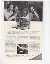 1962 Kodak Sound 8 Movie Projector - Vintage Advertisement Print Ad / e222